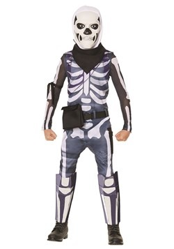 Kids Fortnite Skull Trooper Costume