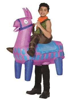 Fortnite Giddy Up Ride On Loot Llama Kids Costume