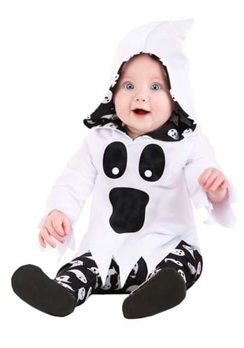 Infant's Spirited Ghost Costume