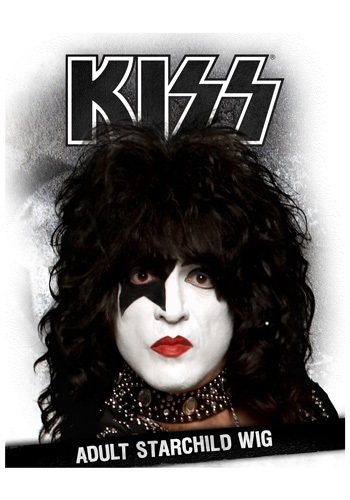 KISS Starchild Wig By: Fun Costumes for the 2015 Costume season.
