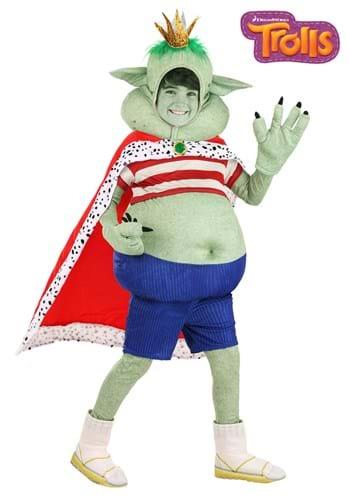 Kid's Prince Gristle Trolls Costume