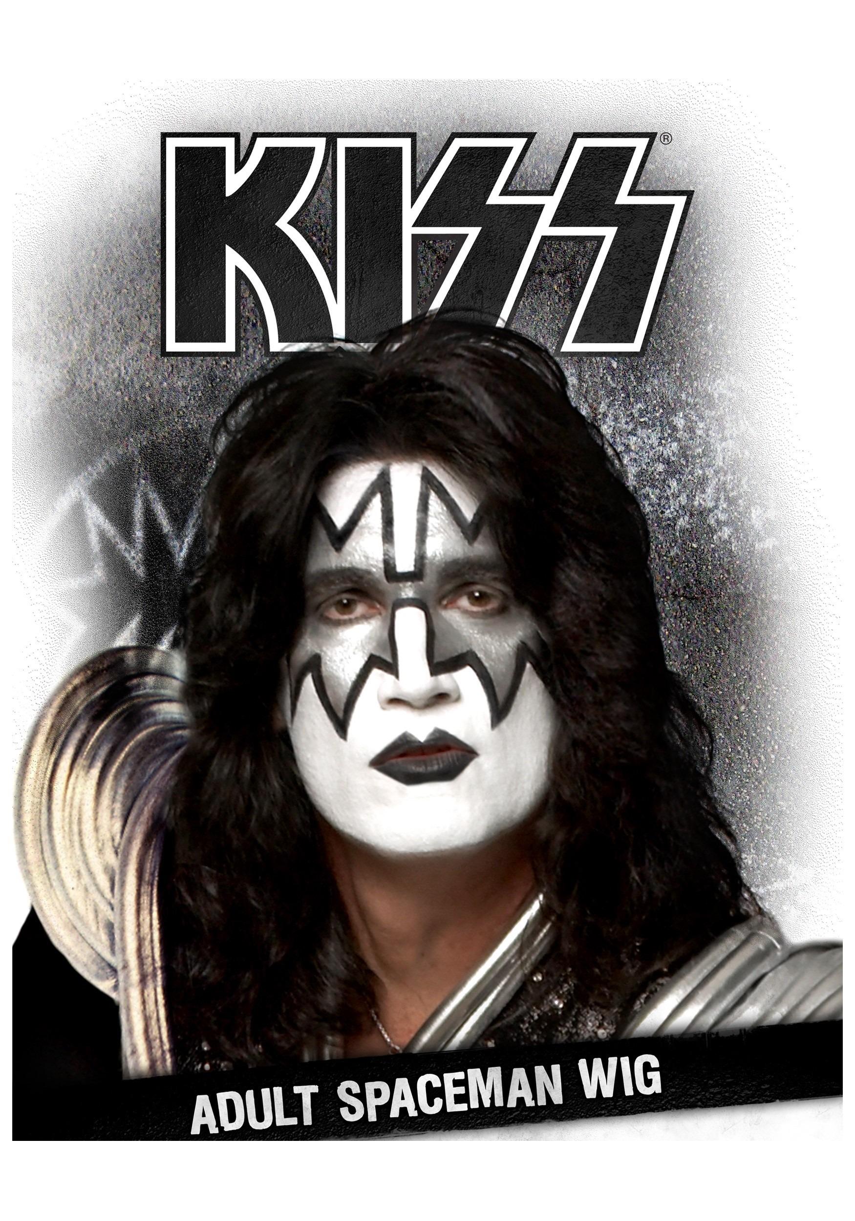 Kiss Spaceman Wig