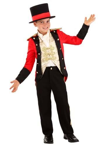 Boys Spotlight Ringmaster Costume