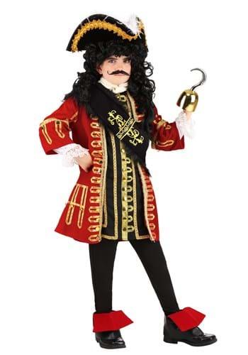 Kid's Elite Captain Hook Costume Main