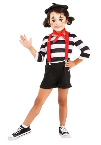 Toddler Mime Costume