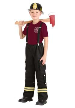 Kid's Fire Captain Costume