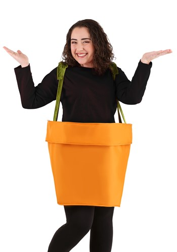 Plus Size Adult Flower Pot Costume