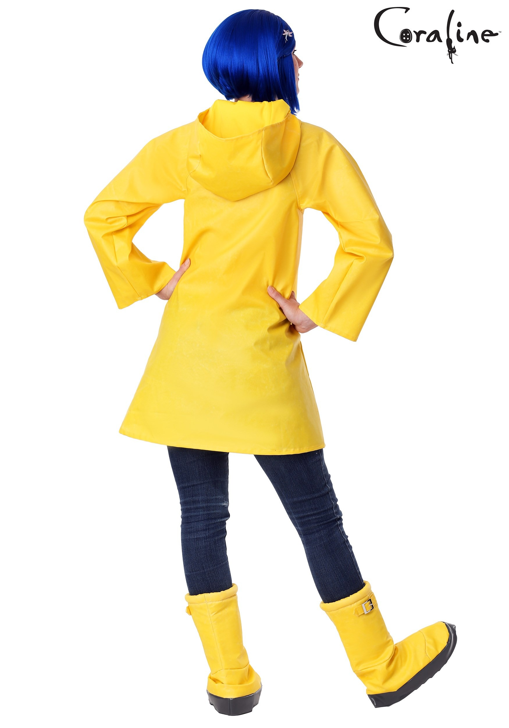 Coraline Adult Plus Size Costume