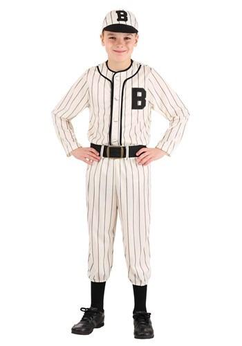 Child Vintage Baseball Costume