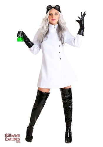 Women's Plus Size Mad Scientist Costume