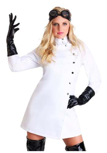 Womens Plus Size Mad Scientist Costume