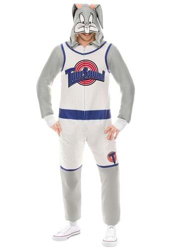 Space Jam Bugs Bunny Union Suit Costume main