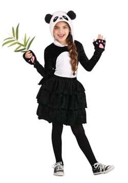 Kids Party Dress Panda Costume