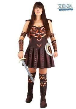 Women's Plus Size Xena Warrior Princess Costume