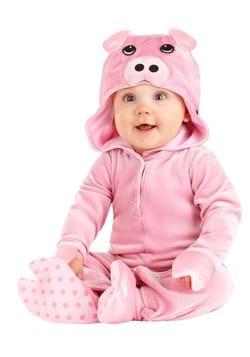 Infants Rosy Pig Costume