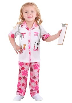 Toddler Girl's Veterinarian Costume Main