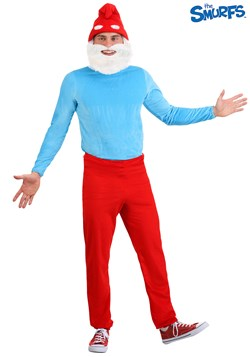 Men's Plus Size Papa Smurf Costume