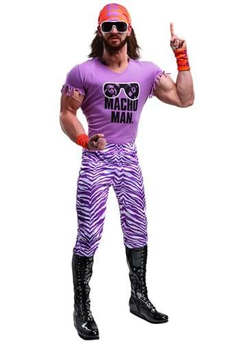 Mens WWE Macho Man Madness Plus Size Costume
