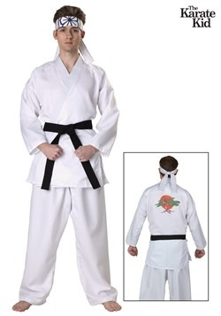Men's Karate Kid Plus Size Daniel San Costume