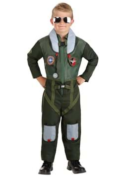 Kid's Daring Fighter Pilot Costume upd