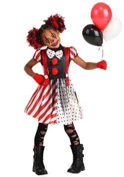 Kid's Dangerous Dotty the Clown Costume2-2