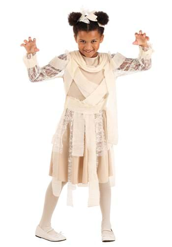 Girl's Mummy Dress Costume