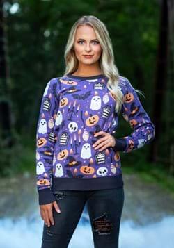 Halloween Mischief Halloween Sweater for Adults 1