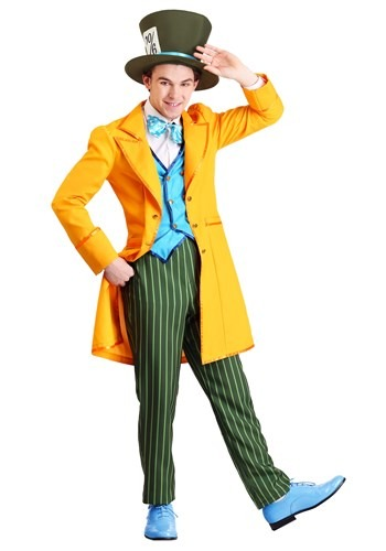 Plus Size Mens Classic Mad Hatter Costume