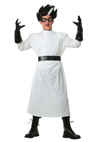 Adult Plus Size Deluxe Mad Scientist Costume