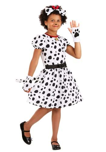 Kid's Dalmatian Dress Costume