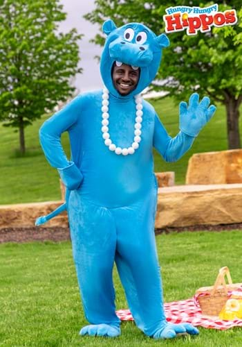 Adult Blue Hungry Hungry Hippos Costume