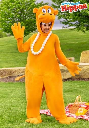 Adult Orange Hungry Hungry Hippos Costume