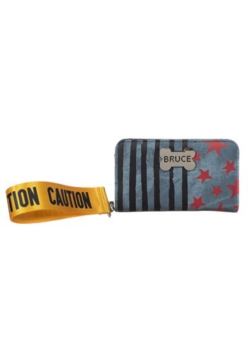 Birds of Prey Harley Quinn Caution Tape Tech Wallet