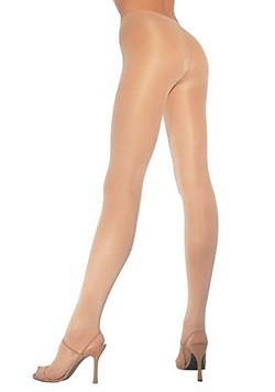 Plus Size Nude Opaque Pantyhose