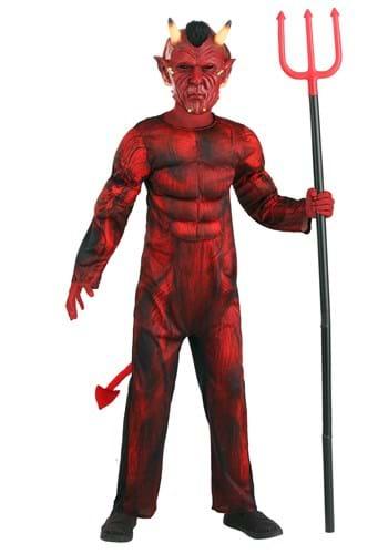 Brawny Devil Costume for Kid's