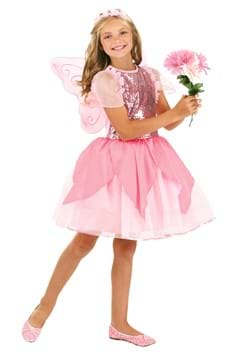 Girls Flower Fairy Costume