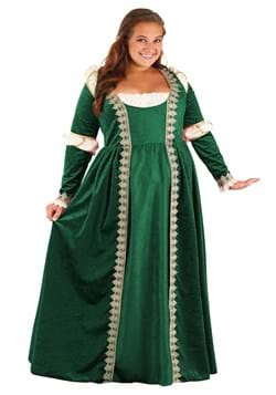 Plus Size Emerald Maiden Women's Costume