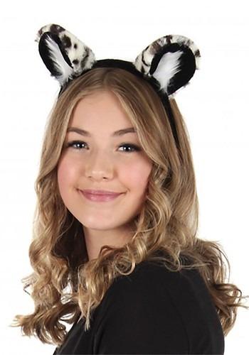 Deluxe Snow Leopard Ears Headband