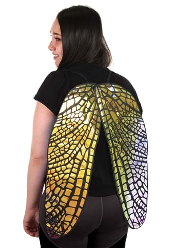 Large Holographic Fairy Wings