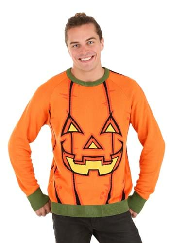 Adult Pumpkin Halloween Sweater
