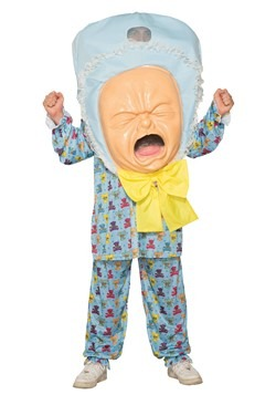 Adult Big Baby Head Costume