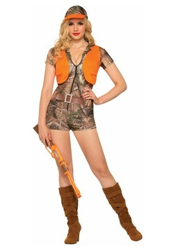 Women's Foxy Hunter Costume