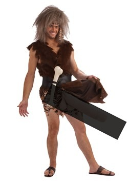 Men's Boner the Caveman Costume