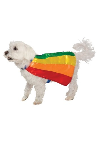 Rainbow Cape for Pets