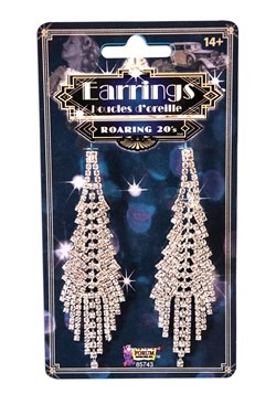 Fancy Flapper Costume Earrings