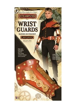 Men's Steampunk Wrist Guards Accessory