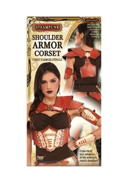 Women's Steampunk Shoulder Harness w/attached Corset