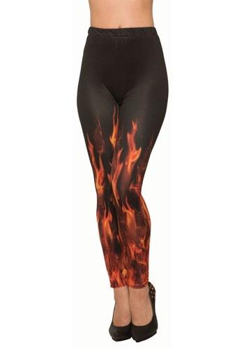 Devil Fire Sublimation Leggings