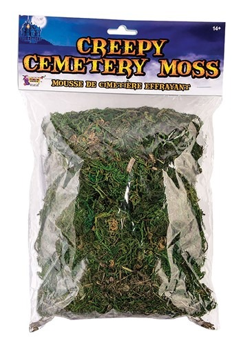 Creepy Cemetary Moss Decoration
