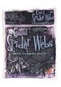 60g Large Black Spider Web w/Spiders Decoration Update
